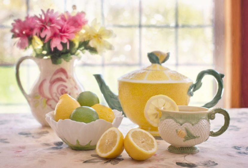 tea with lemon 783352_1920